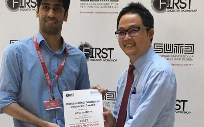 Atul Mantri wins Outstanding Graduate Research Award
